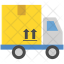 Logistics Delivery Truck Icon