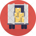 Loading Freight Transportation Icon