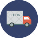 Cargo Truck Industrial Truck Logistic Truck Icon