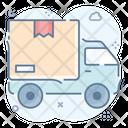 Cargo Van Transport Vehicle Icon