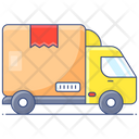 Delivery Vehicle Cargo Van Delivery Truck Icon