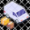 Shipment Van Delivery Van Delivery Vehicle Icon