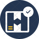 Cargo Verification Check Valid Icon