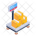 Weight Scale Cargo Weight Delivery Weighing Icon