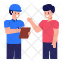 Cargo Workers Icon
