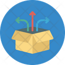 Cargo Workflow Order Dispatch Order Processing Icon