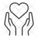 Heart Hands Love Icon