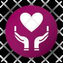 World Love Caring Icon