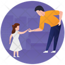 Caring Father Icon