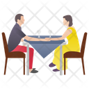 Caring Partner Proposal Married Couple Icon