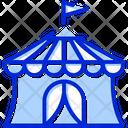 Circus Tent Carnival Icon