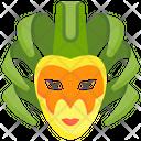Carnival Mask Brazil Icon