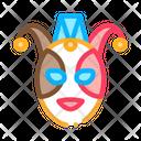 Festival Mask Italian Icon