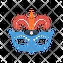 Mask Carnival Circus Icon