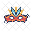 Carnival Mask Party Mask Theater Mask Icon