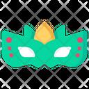 Face Mask Party Celebration Icon