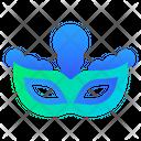Mask Carnival Festival Icon