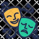Mask Drama Comedy Icon