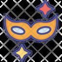 Carnival Mask Costume Mask Eye Mask Icon