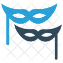 Carnival Face Mask Icon
