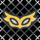 Carnival Costume Mask Icon