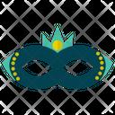Carnival Mask Victorian Mask Mardi Gras Icon