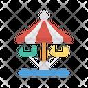 Carnival Swing Circus Icon