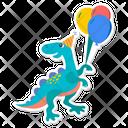 Carnotaurus Dino Dinosaur Icon