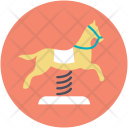 Carousel Horse Amusement Icon
