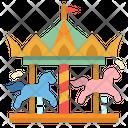 Carousel Circus Fairground Icon