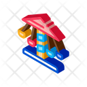 Children Carousel Attraction Icon