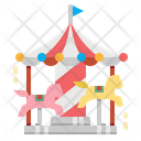 Carousel Fun Circus Icon