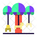 Carnival Celebration Holiday Icon