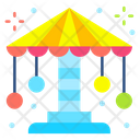 Carousel Entertainment Fairground Icon