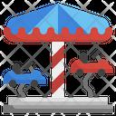 Carousel Amusement Park Circus Icon