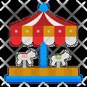 Carousel Amusement Park Amusement Icon