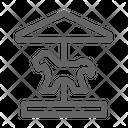 Carousel circus Icon