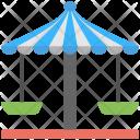 Carousel Swing Circular Icon