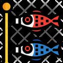 Carp Flag Fish Flag Icon
