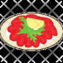 Carpaccio Platter Italian Cuisine Italian Food Icon