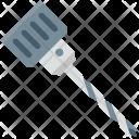 Carpenter Drill Bit Icon