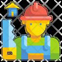 Carpenter Work Job Icon