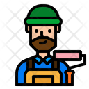 Carpenter User Man Icon
