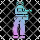 Carpenter Suit Jumpsuit Garment Icon