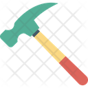 Carpentering Tool Claw Hammer Construction Tool Icon