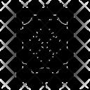 Carpet Printed Carpet Floor Icon