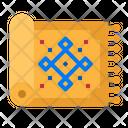 Carpet Mat Interior Icon