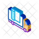 Carpet Cleaning Truck Icon