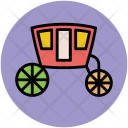 Carriage Wedding Crew Icon