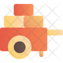 Carriage Transport Cart Icon